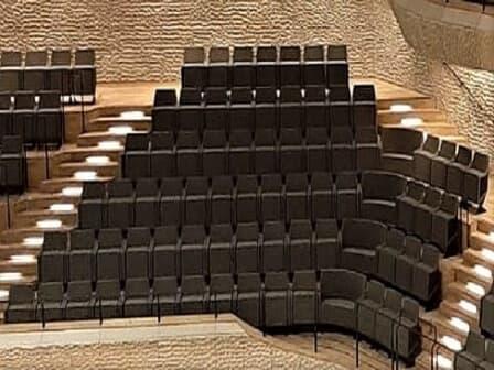 Die Akustik im Großen Saal - Publikum und Gestühl