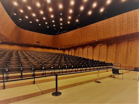 Elbphilharmonie - Der Kleine Saal - mobile Zuschauertribüne