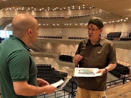 Elbphilharmonie - Der Große Saal - Führung