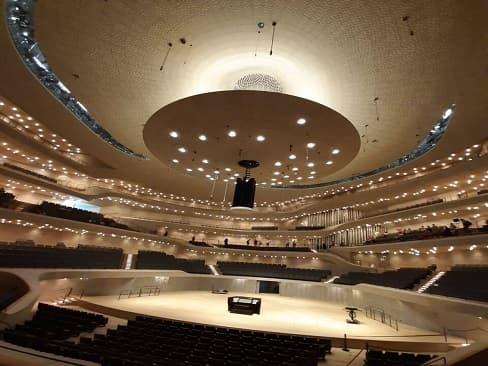 Die Akustik im Großen Saal - Die Saalform