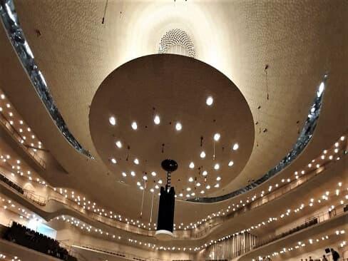 Die Akustik im Großen Saal - Der Reflektor
