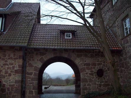 Eingangstor Burg Ludwigstein