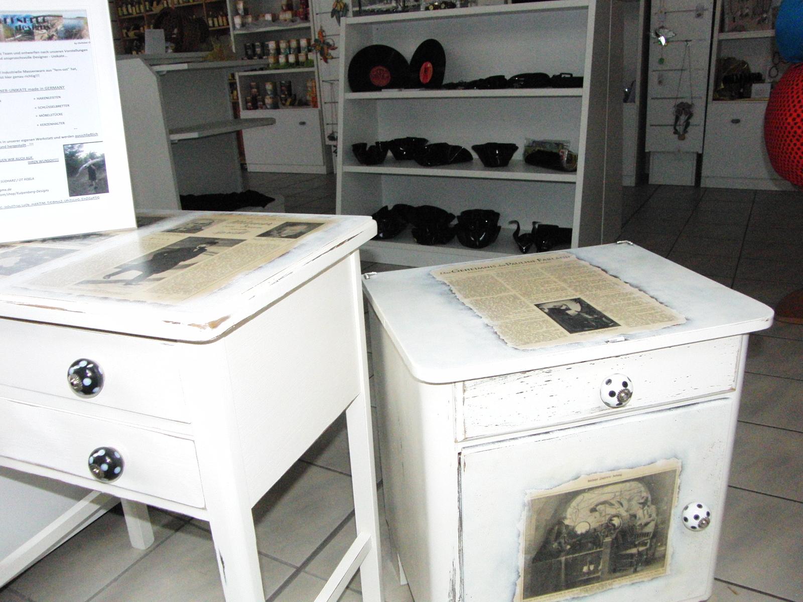 Kleinmöbel von Kulpenberg- Design