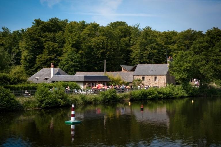 Le restaurant le Moulin de la forêt