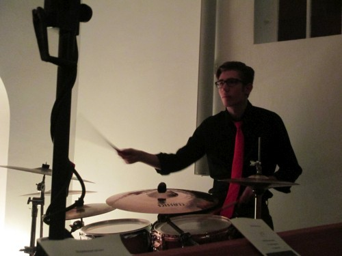 Schlagzeuger und Vollblutmusiker Tristan Claves