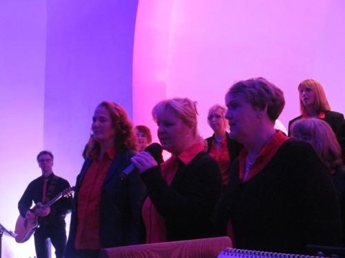Die drei Solistinnen des Abends: Elke Steinhausen, Susanne Walters, Anja Pohl