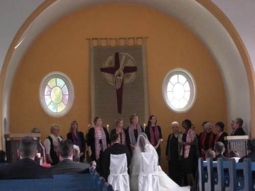Foto: Kirchengemeinde, Trauung