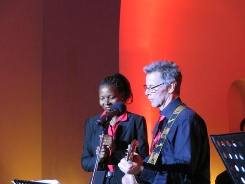 Duett von Judy Daka-Kunz und Ulrich Plate