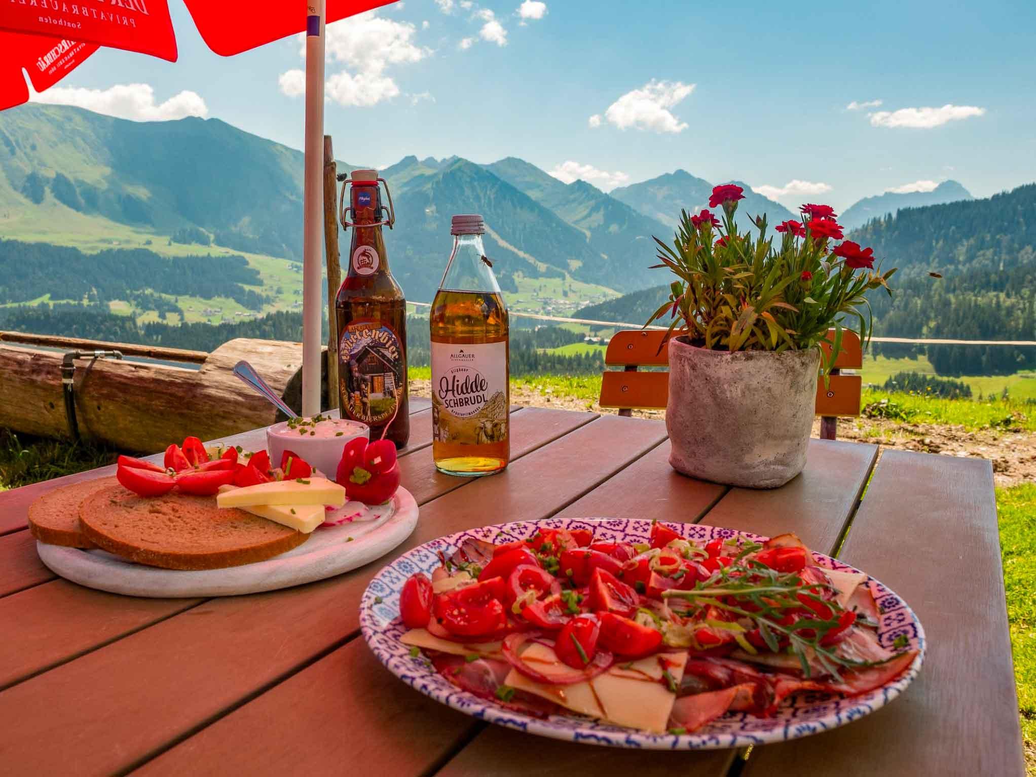 Alpe Osterberg, Allgäu und Kleinwalsertal