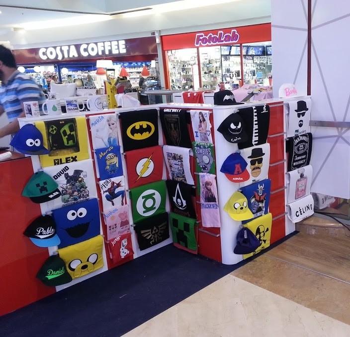 Expositor Isla/Stand para Centro Comercial