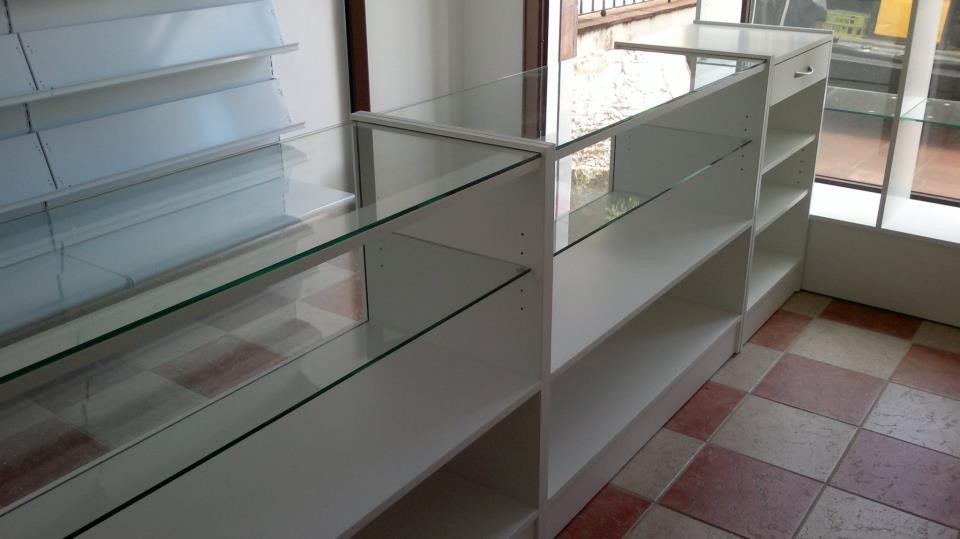 Interior mostradores