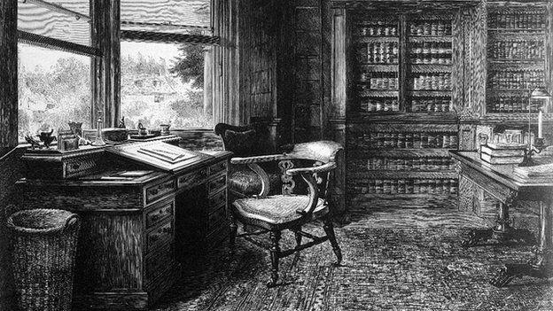 """""""Sie und ich sind die einzigen beiden Menschen, die um die wahre Bedeutung des Bildes wissen."""" (S.273) - """"The Empty Chair"""", Gemälde von Samuel Luke Fildes"""