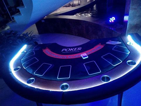 renta de mesas de casino