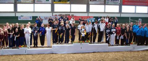 Alle Sieger der LM, zweit und dritt Platzierten (Bild Pegasus Garbsen)