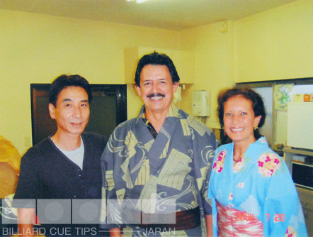 2003年に弊社工房を訪れたジナキューのギュテレス夫妻