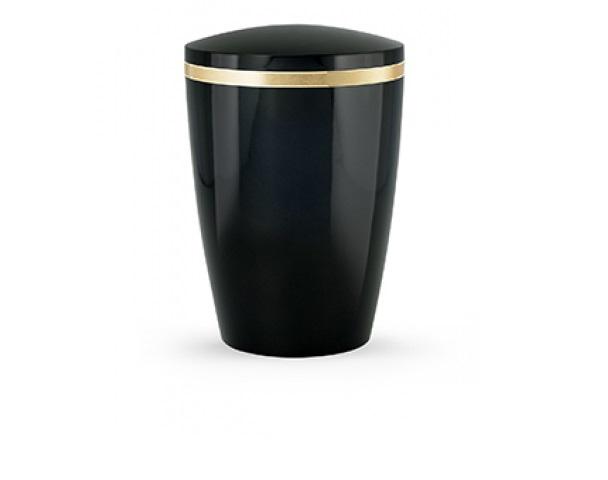 Schwarze Urne, Glänzend