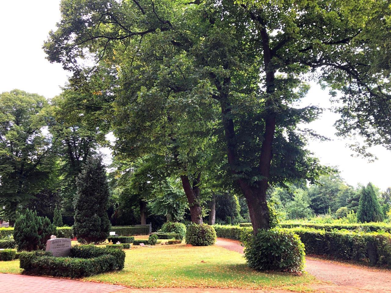 Grabfelder Friedhof Billwerder