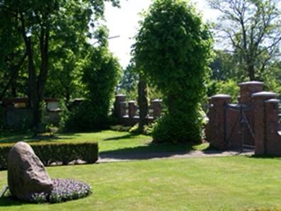 Eingangstor Mennonitenfriedhof Hamburg