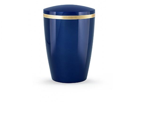 Blaue Urne, Glänzend