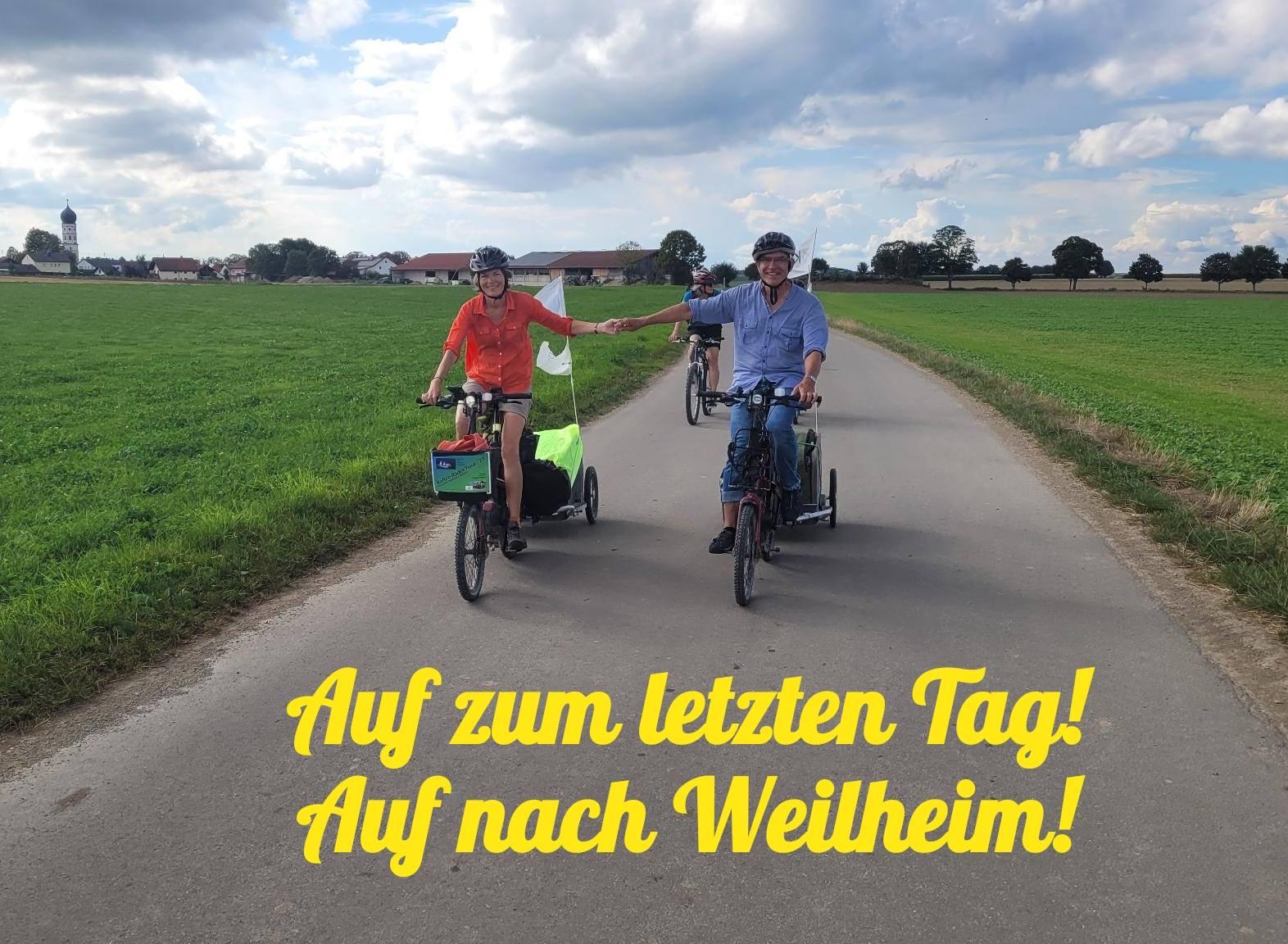 Eindrücke vom letzten Tag, Tag 14: Geltendorf nach Weilheim