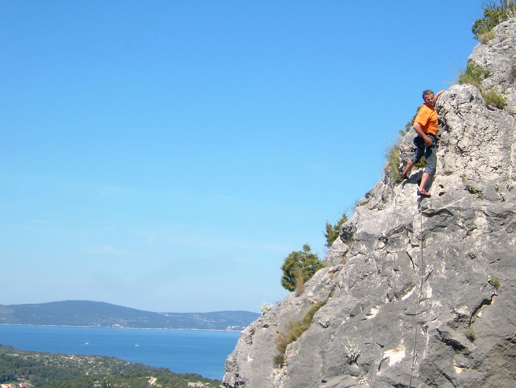 Segeln und klettern in Kroatien