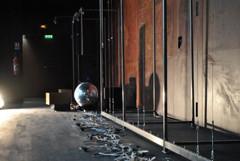 installation Théâtre de l'Archipel, 16 novembre 2013