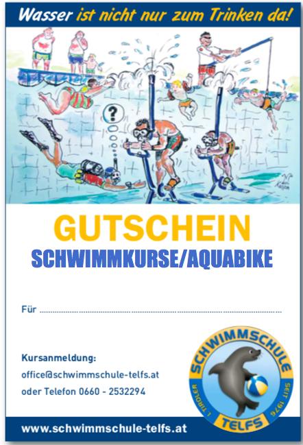 Gutschein Schwimmschule Telfs