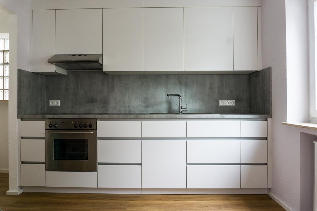 Moderne Küche weiß