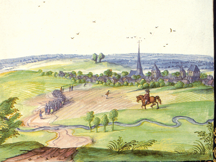 Herbigny en 1607, Dessin d'Adrien de Montigny