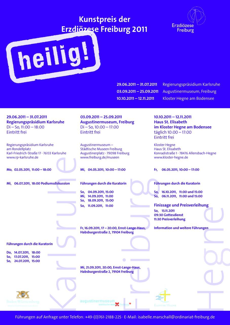 """""""Heilig"""" Ausstellung"""