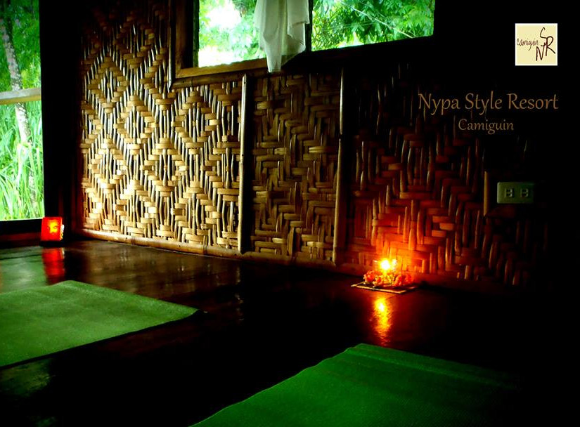nypa style resort, camiguin, philippines, yoga,