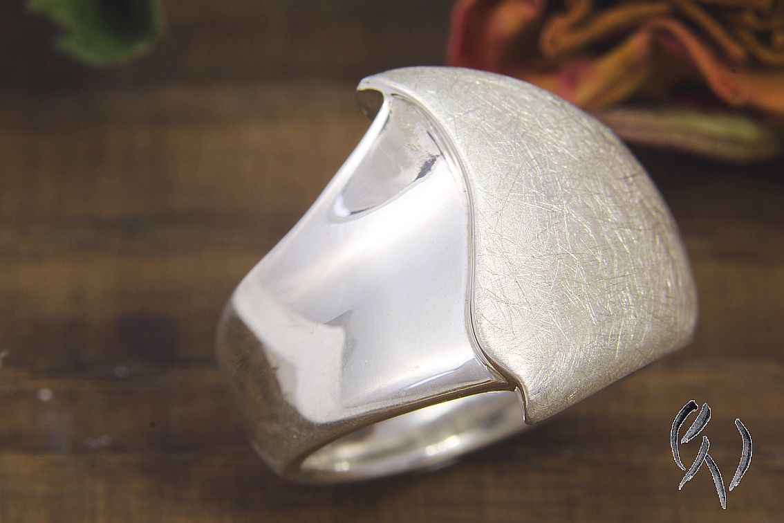 "Ring Silber 925/-, ""Wave"": € 107,20"
