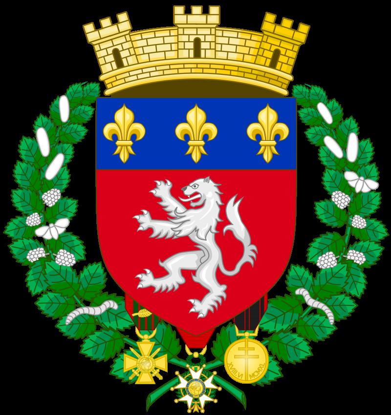 Armoiries de la ville de Lyon.