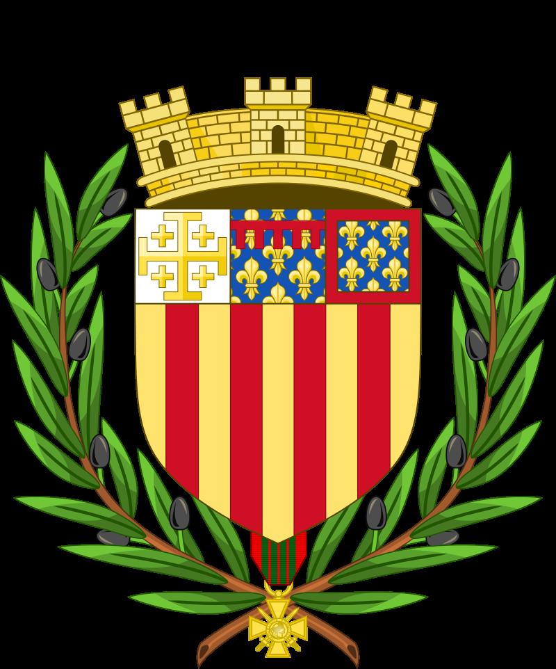 Armoiries de la ville de Aix-en-Provence.