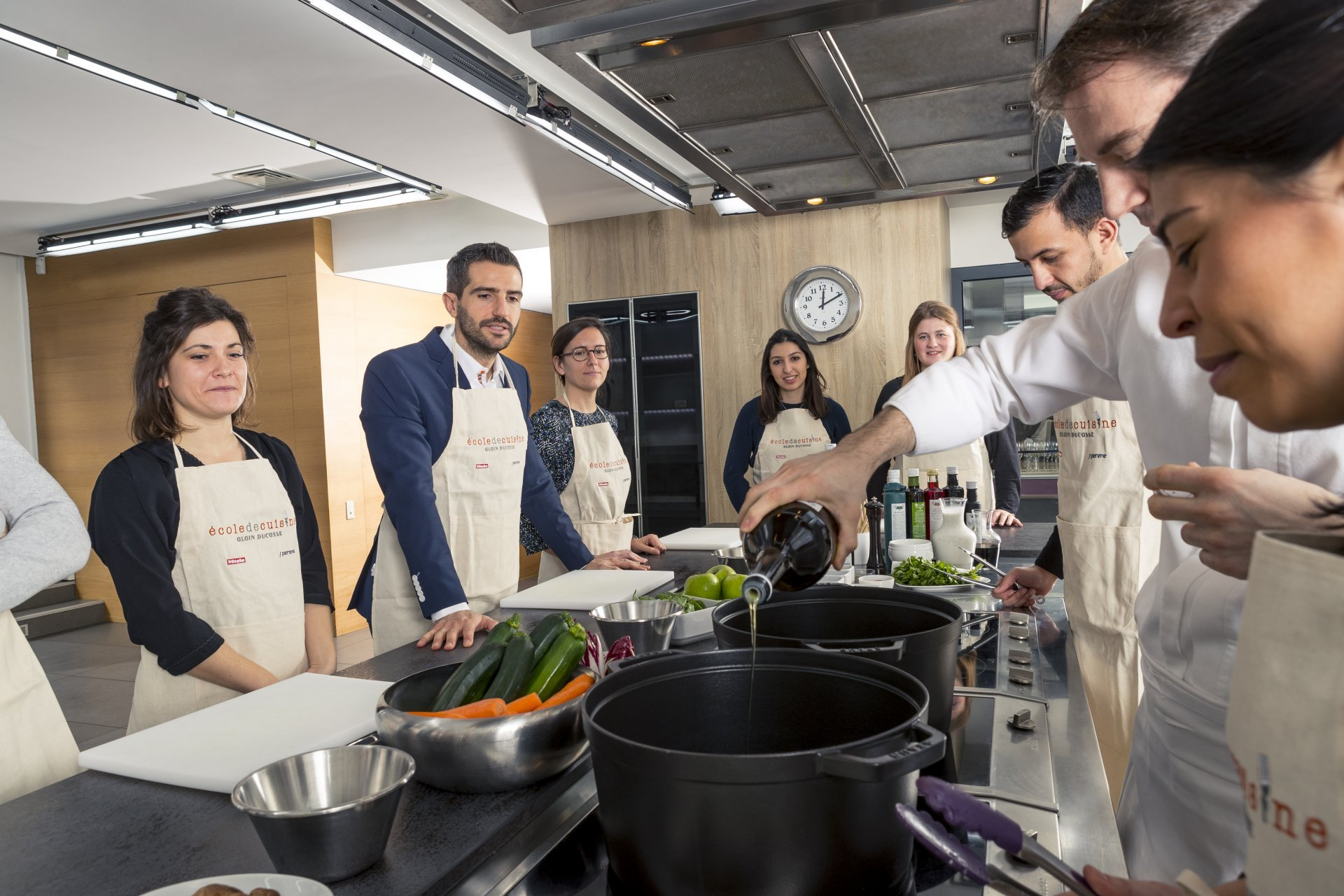 École de cuisine Ducasse Education.