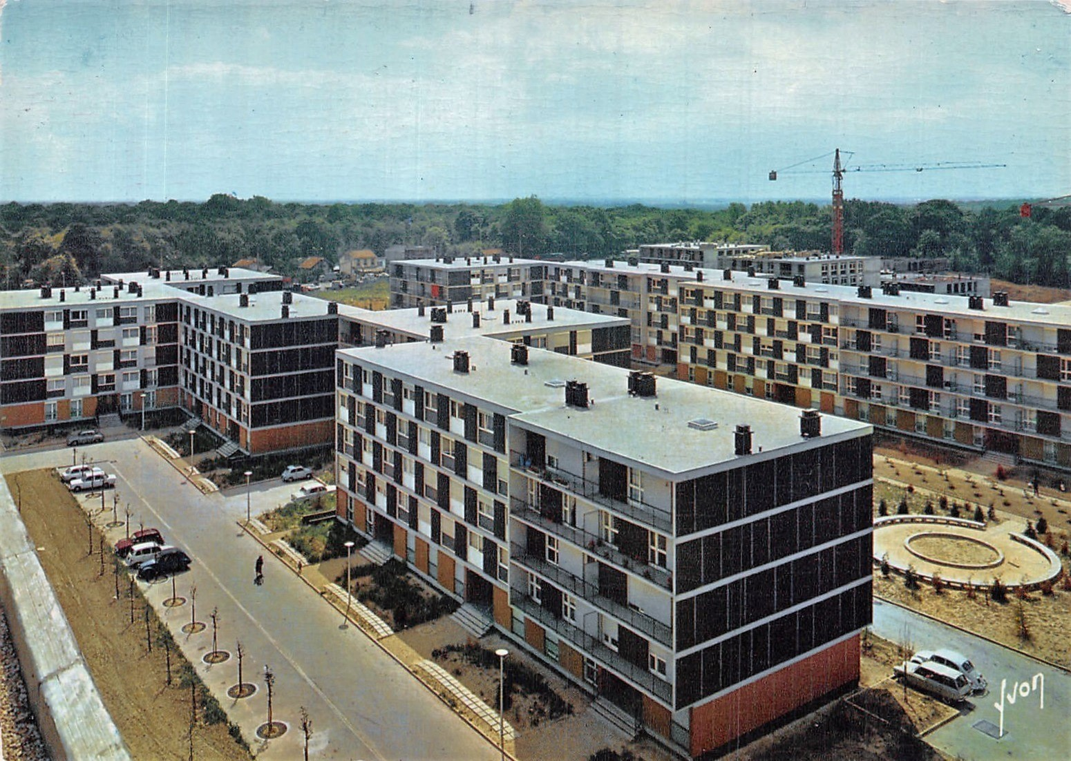 Vélizy-Villacoublay - Résidence Leclerc - Date d'oblitération : 31.07.1986
