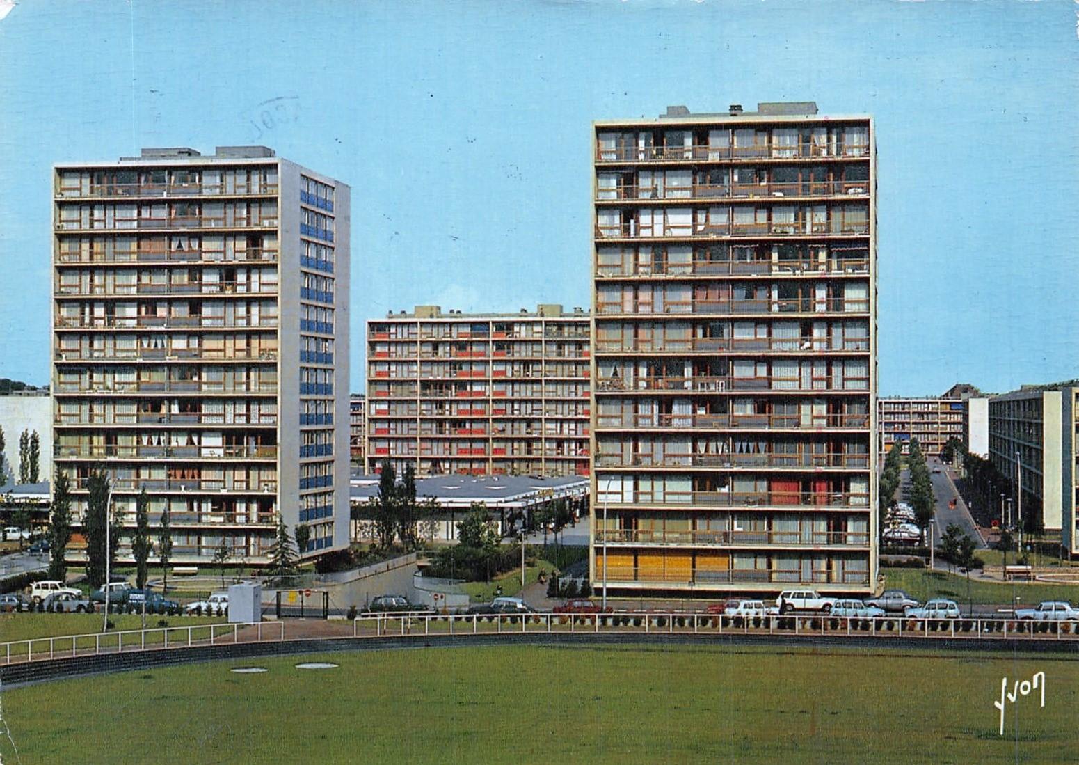 Vélizy-Villacoublay - Rue Paulhan - Date d'oblitération : 20.10.1986