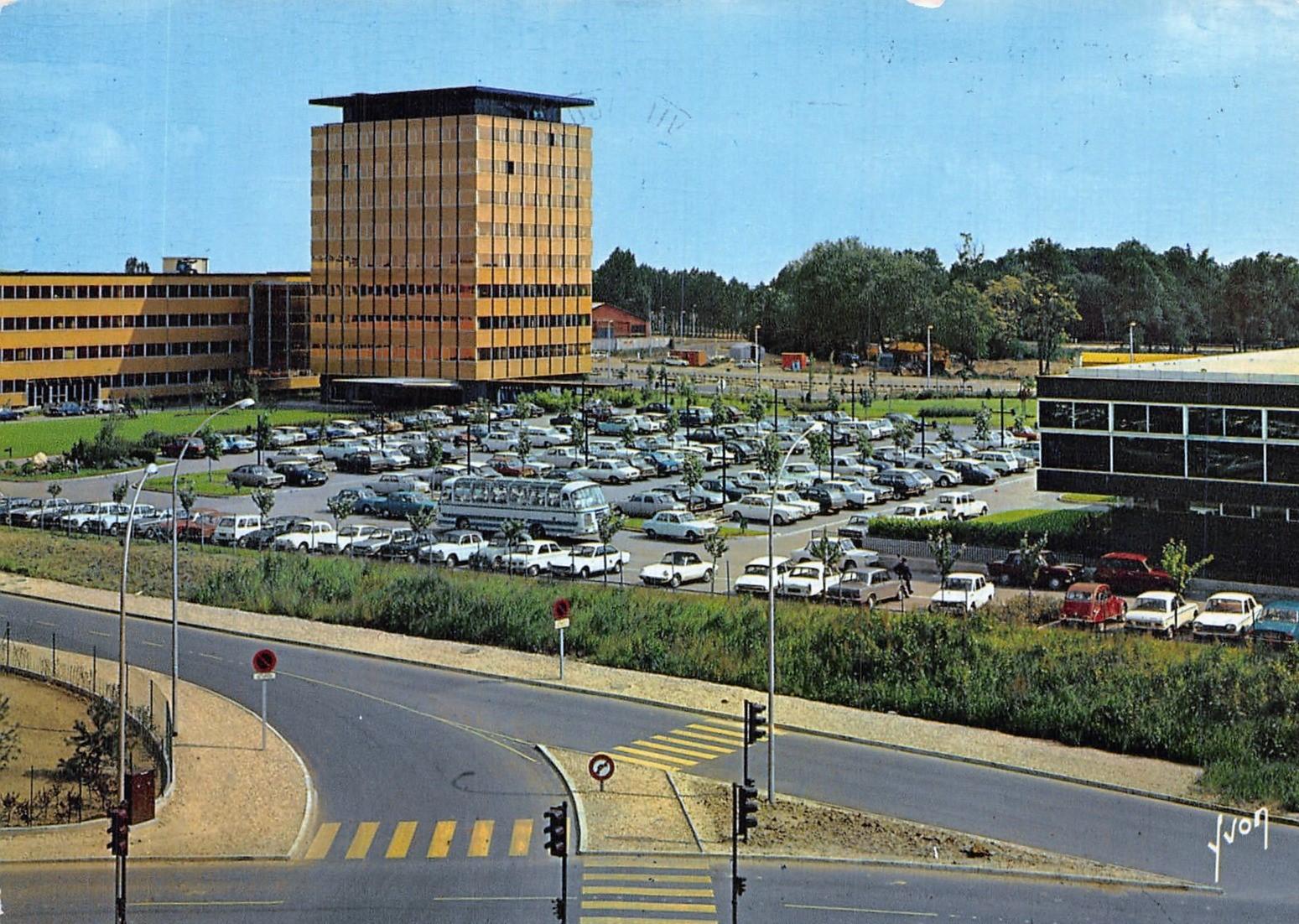 Vélizy-Villacoublay - MATRA - Date d'oblitération : 12.01.1987