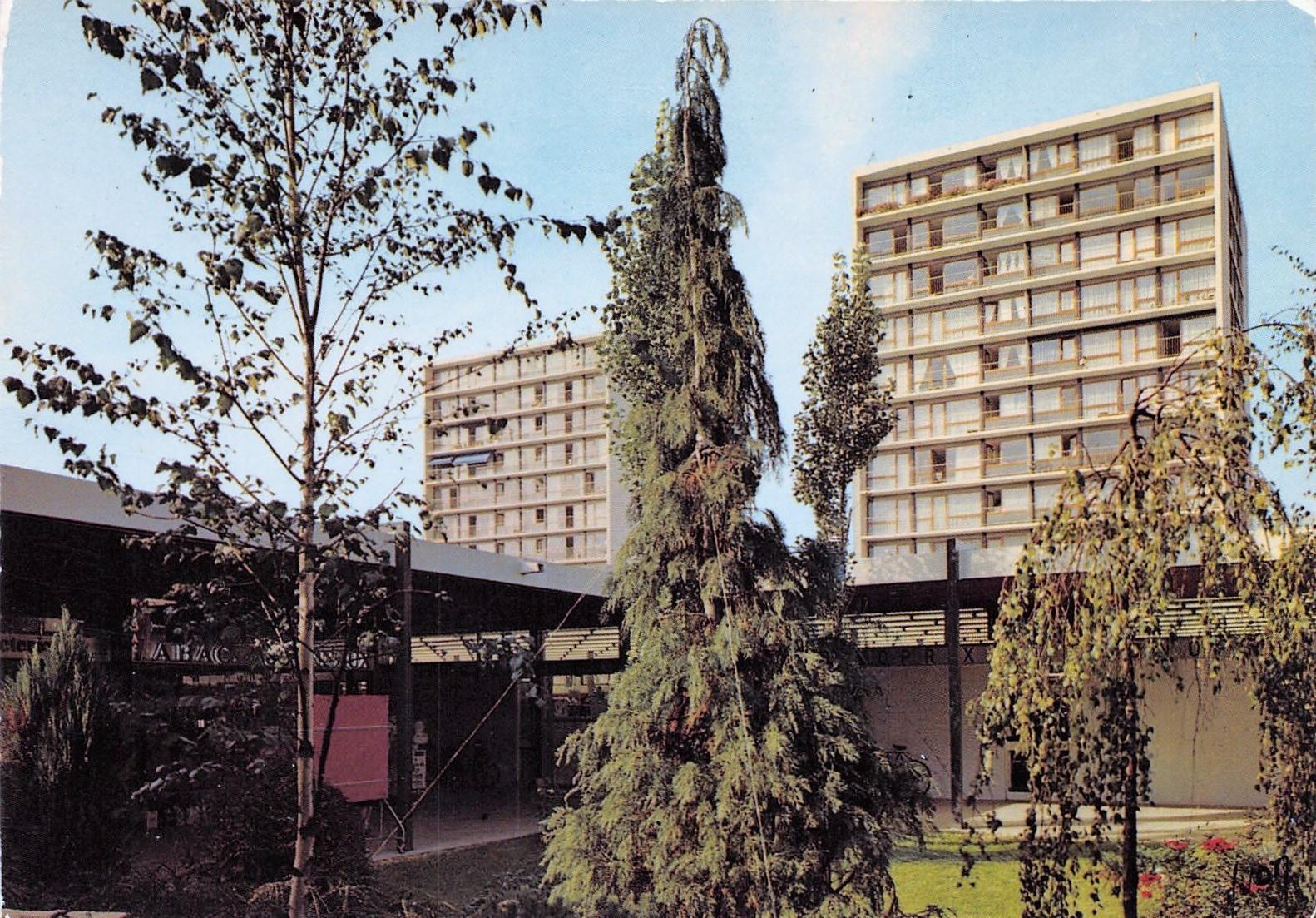 Vélizy-Villacoublay - Le centre commercial Le Mail Date d'oblitération : 17.05.1994