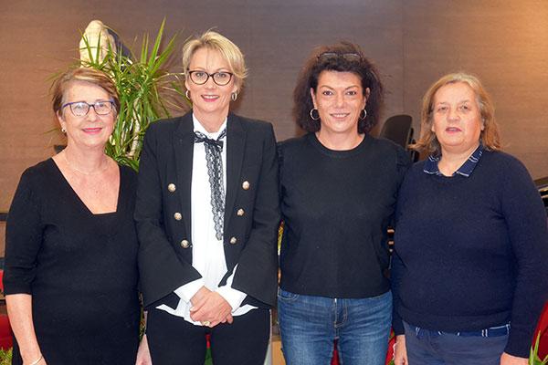 Les quatre agents recenseurs de Vélizy-Villacoublay