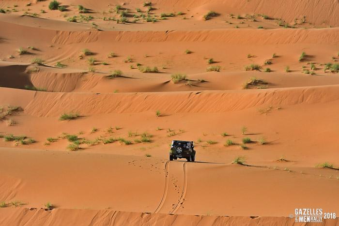 Gazelles and Men Rally 2018 - Équipage CAP 118.