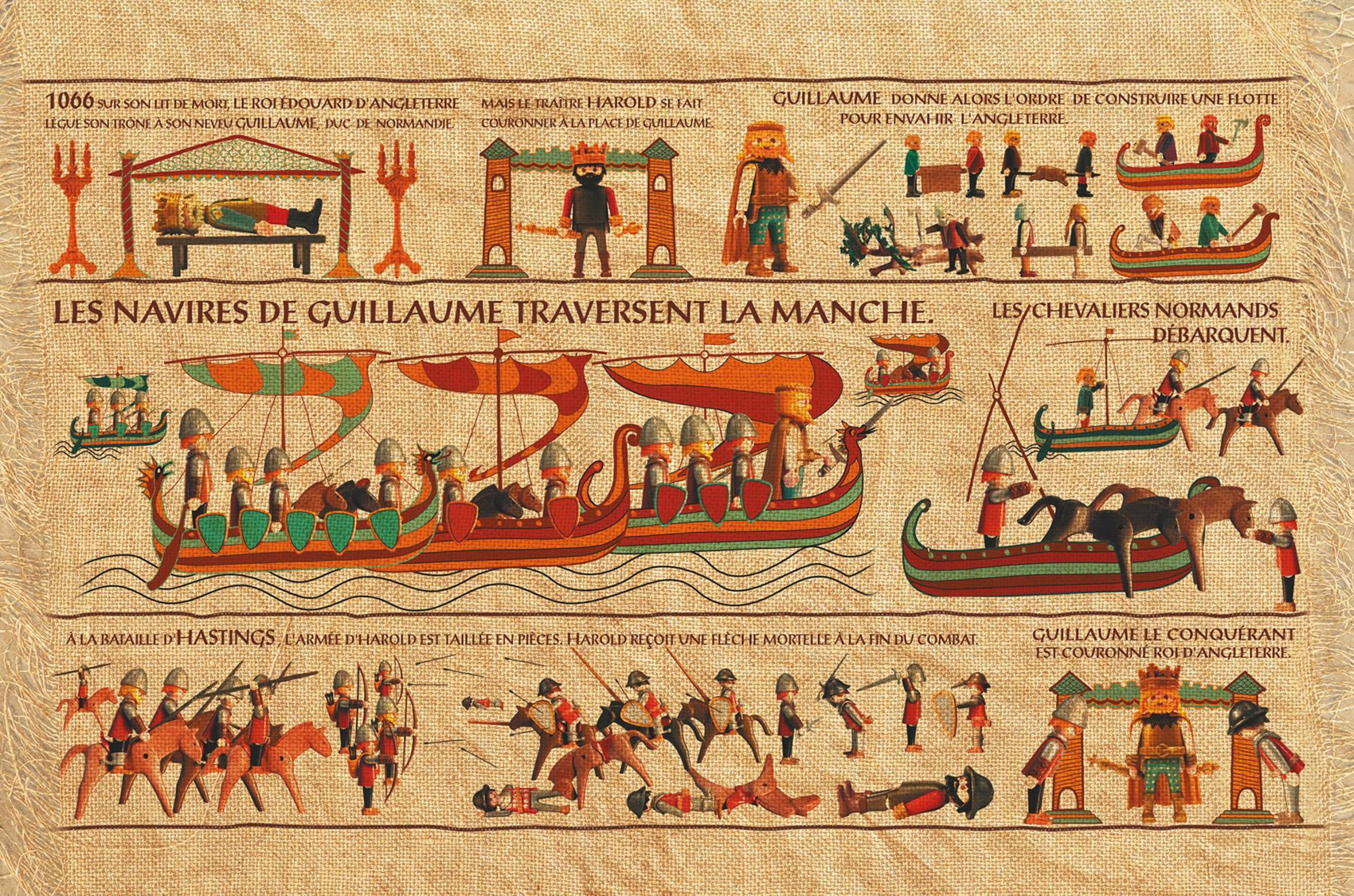 GUILLAUME LE CONQUÉRANT (1027-1087) par Richard UNGLIK.