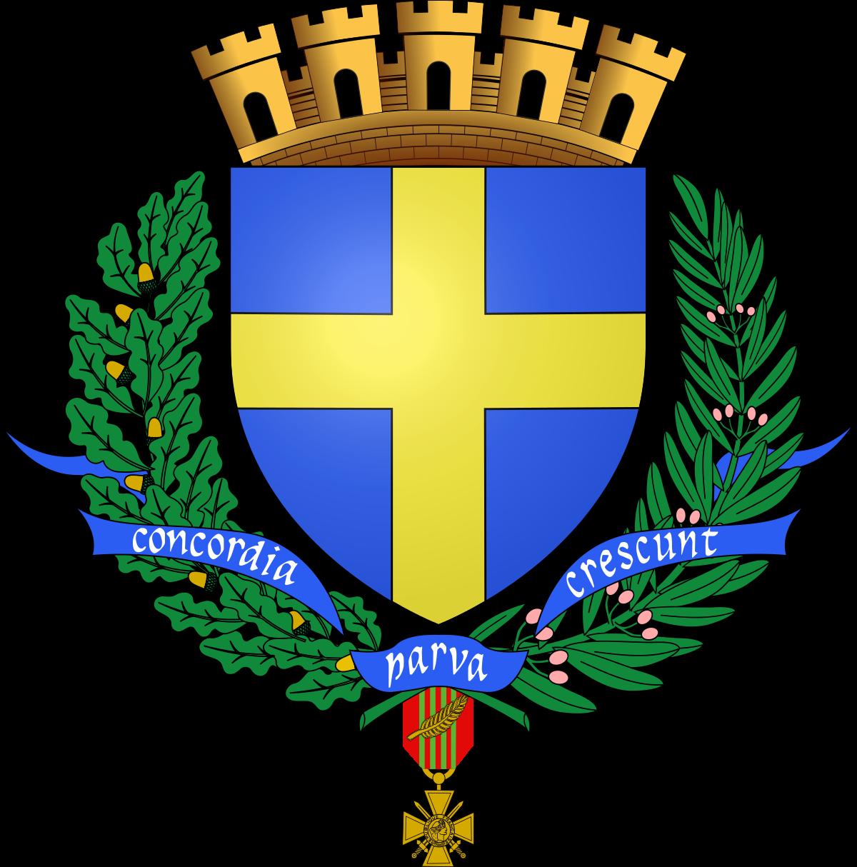 Armoiries de la ville de Toulon.
