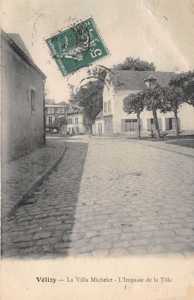 L'Impasse de la Tôle deviendra la rue de la Forêt.