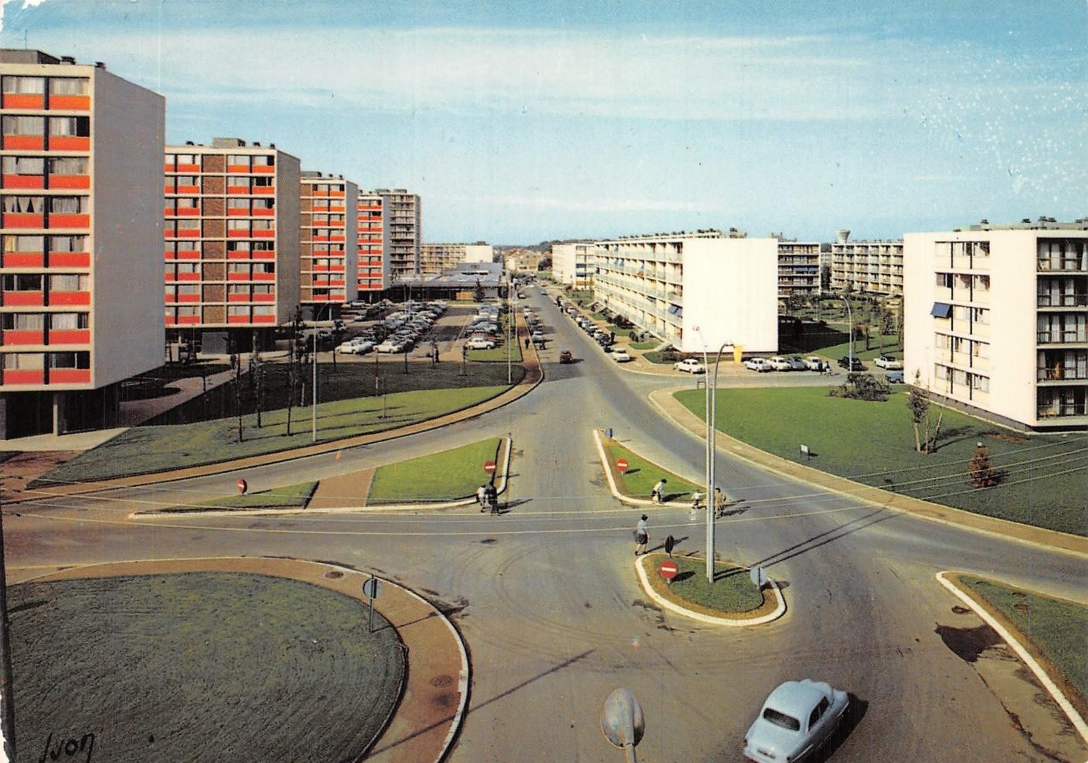 Vélizy-Villacoublay - Avenue du Général de Gaulle - Date d'oblitération : 19.02.1987