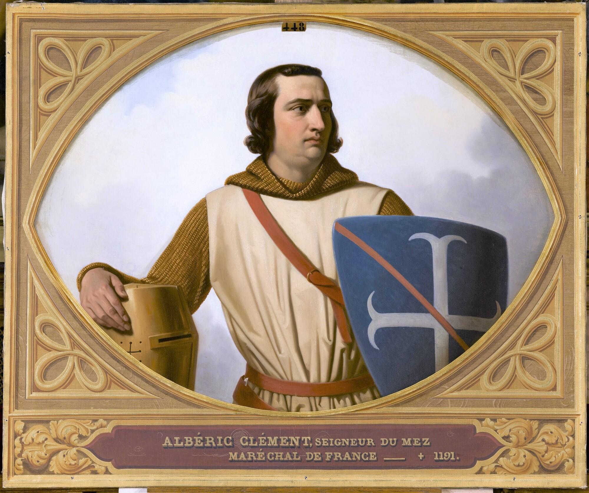 Albéric Clément, maréchal de France. Peintre : Henri Decaisne.