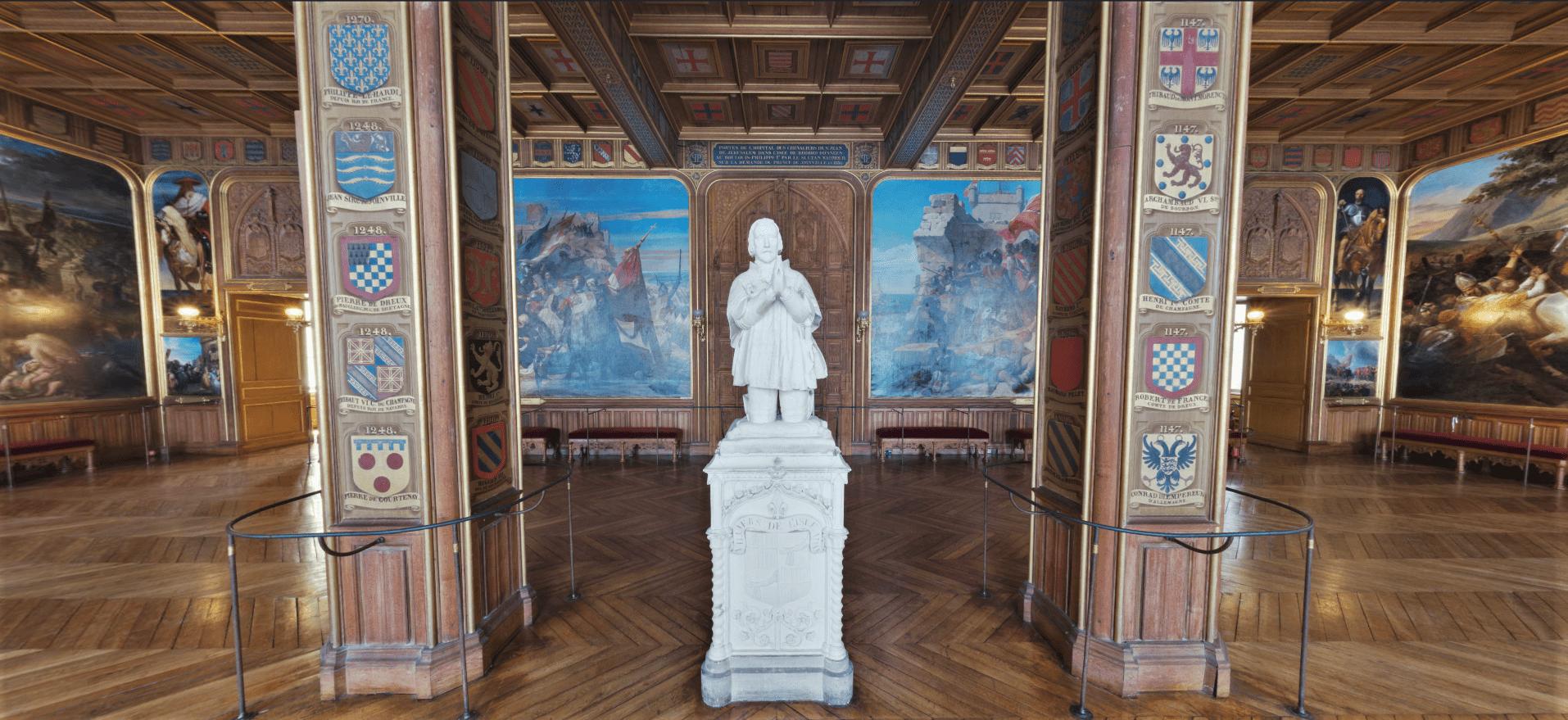 Salles des Croisades – Château de Versailles.