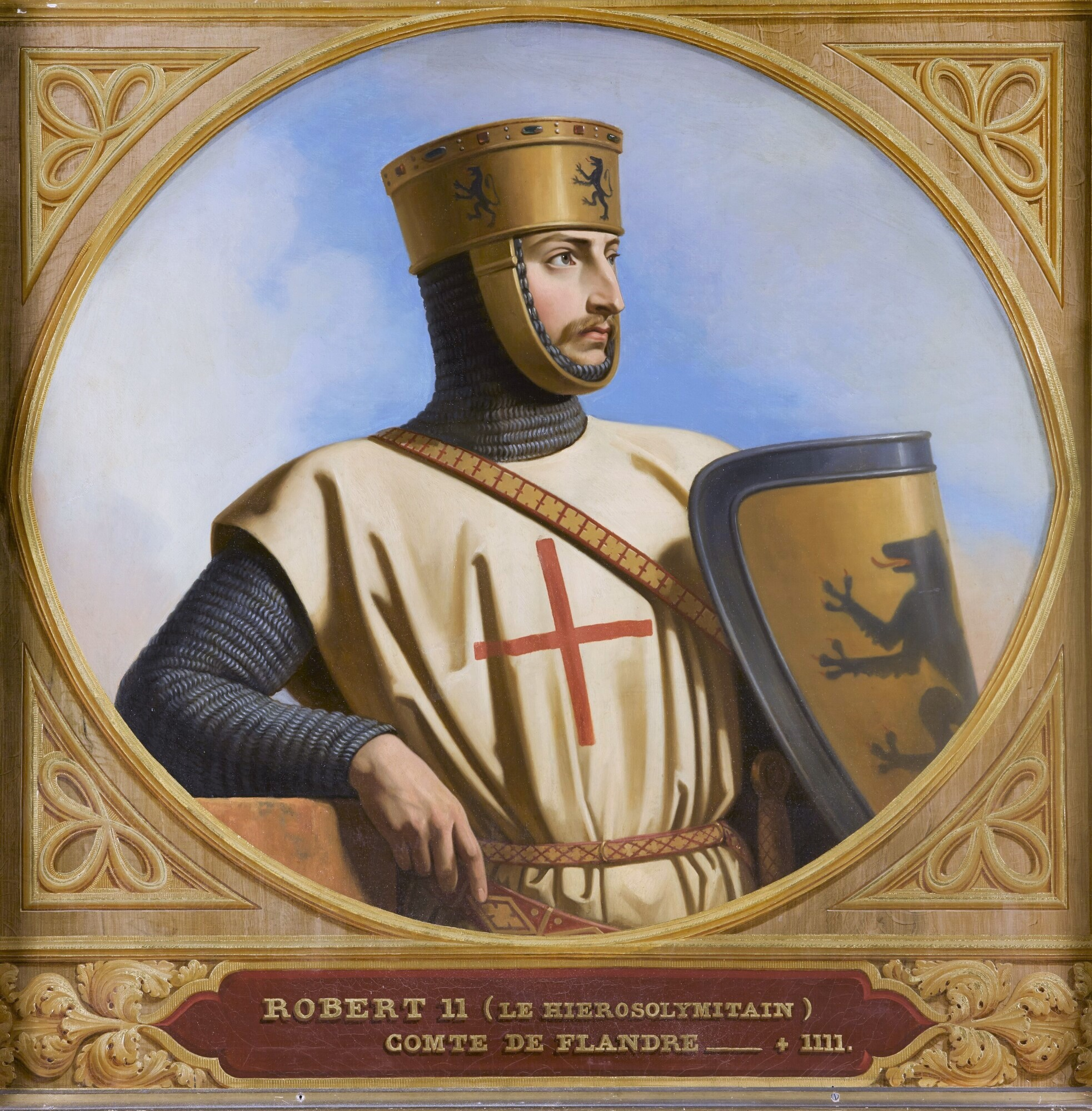 Robert II, dit le Iérosolymitain, comte de Flandre (?-1111).