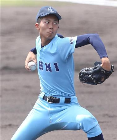 近江高校 京山選手