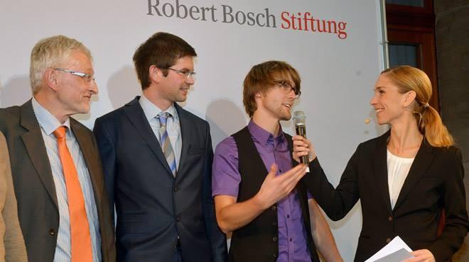 Preisverleihung Schule trifft Wissenschaft  2013 @Robert Bosch Stiftung